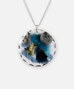 New Wolfs moon 2 Necklace