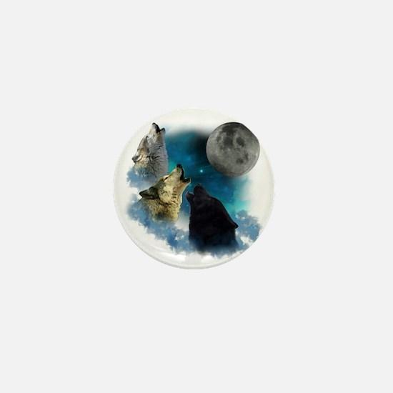 New Wolfs moon 2 Mini Button