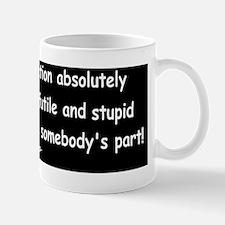 animal house stupid gesturedbump Mug