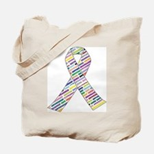 all cancer rep ribbon 2 Tote Bag