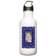 Angel Stars Secret Sis Water Bottle