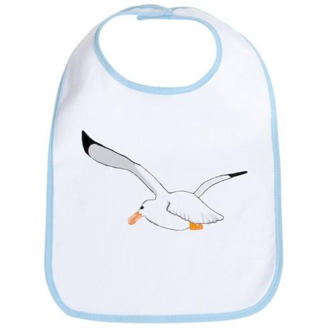 Seagull In Flight Bib