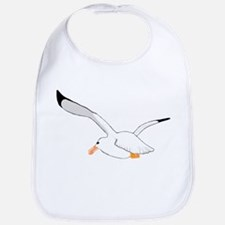 Seagull In Flight Bib