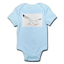 Seagull In Flight Infant Bodysuit