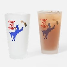 fight-the-right Drinking Glass