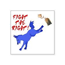 """fight-the-right Square Sticker 3"""" x 3"""""""