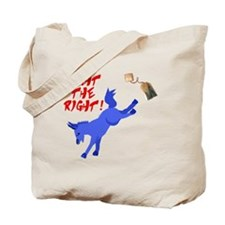 fight-the-right Tote Bag