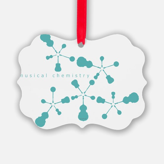 musical chemistry transparent Ornament