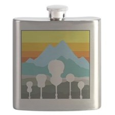 mountain music color transparent Flask