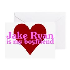 jakeryanboyfriend Greeting Card
