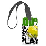 Tennis Luggage Tags
