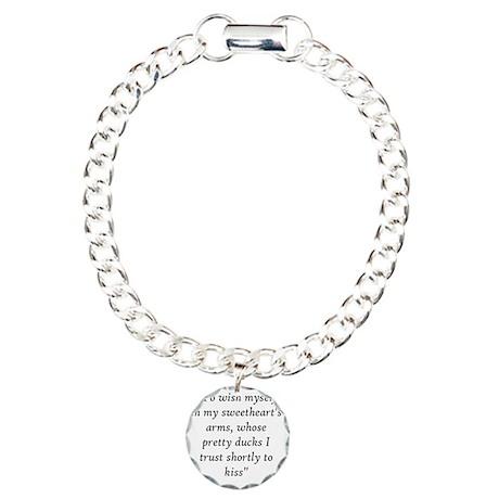 Henry VIII's love letter Charm Bracelet, One Charm