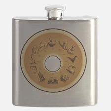 12 Guardian Animals Flask