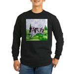 Harlequin Great Dane Duo Long Sleeve Dark T-Shirt