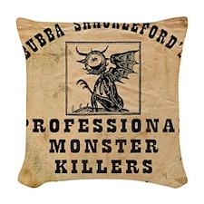 BSPMH1 Woven Throw Pillow