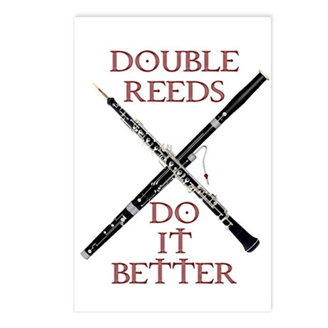 Double Reeds Do It Better Postcards (Package of 8)