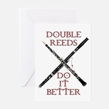 Double Reeds Do It Better Greeting Cards (Pk of 10