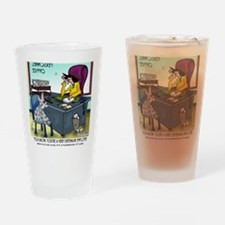 7355_insurance_cartoon Drinking Glass