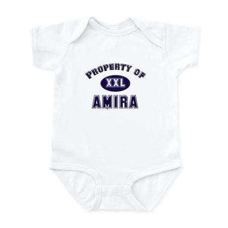 Property of amira Infant Bodysuit