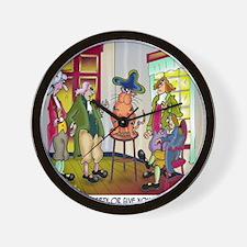 5682_history_cartoon Wall Clock