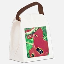 Tulips Painting Canvas Lunch Bag