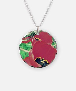 Tulips Painting Necklace