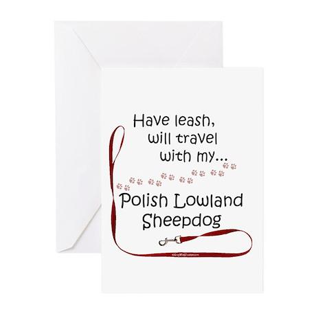 Polish Lowland Travel Greeting Cards (Pk of 10