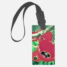 Tulips Painting Luggage Tag