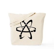 Atheist A black Tote Bag