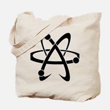 Atheist A black Tote Bag