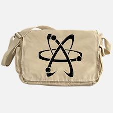 Atheist A black Messenger Bag
