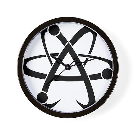 Atheist A black Wall Clock