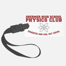 physicsclub Luggage Tag