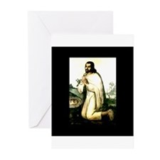Saint Juan Diego - San Juan D Greeting Cards (Pack