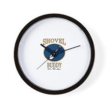 Shovel Buddy Wall Clock