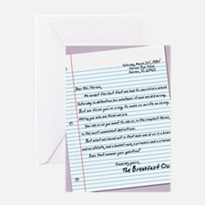 letter23x35 Greeting Card