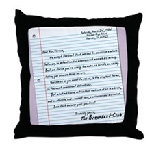 letter23x35 Throw Pillow