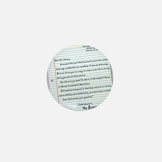 letter23x35 Mini Button