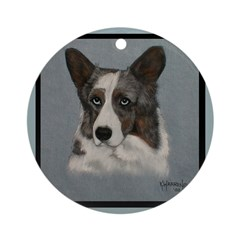 Cardigan Welsh Corgi Ornament (Round)