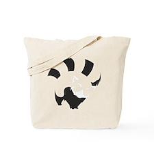 Red Panda (transparent ver.) Tote Bag