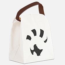 Red Panda (transparent ver.) Canvas Lunch Bag