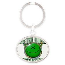 MHI_Vanity_1a Oval Keychain
