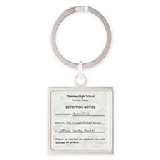 Detention andrew Square Keychain