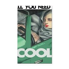 COOL - ALL YOU NEED Rectangle Car Magnet