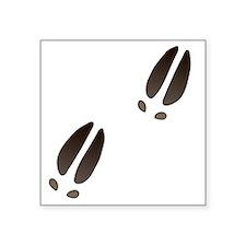 "Moose Tracks Square Sticker 3"" x 3"""