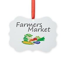 Farmers Market Ornament