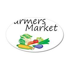 Farmers Market Wall Decal