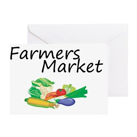 Farmers Market Greeting Card
