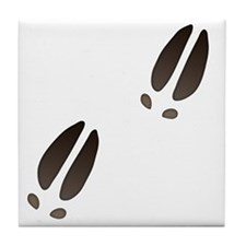 Moose Tracks Tile Coaster