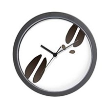 Moose Tracks Wall Clock